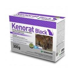 KENORAT BLOQUE (300 GR)-Bromadiolona 0,0029%