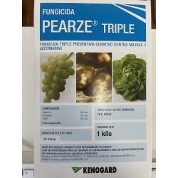 PEARZE TRIPLE -Fosetil-Al 50% p/p (500 g/kg), Cimoxanilo 4% p/p (40 g/kg), Folpet 25% p/p (250 g/kg)